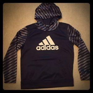 Adidas hoodie boys large